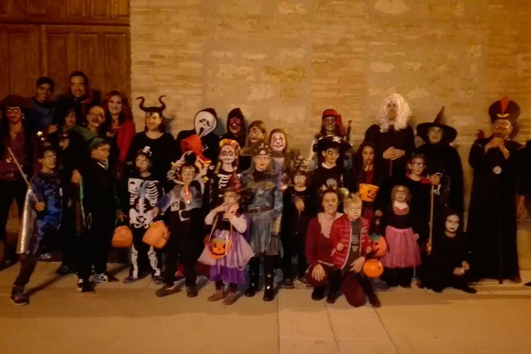 Halloween en Cinco Olivas 2017