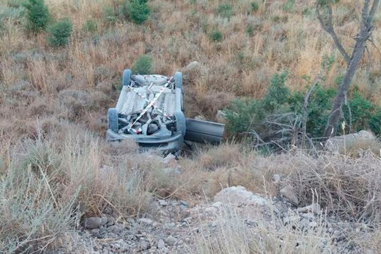 Accidente de coche en Sástago