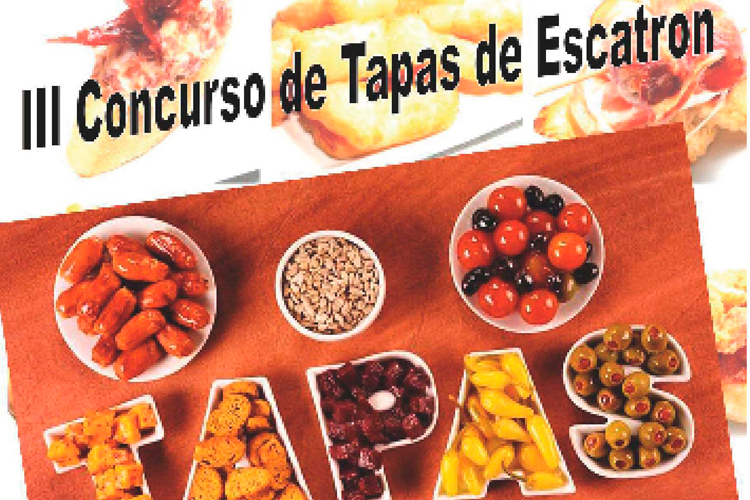 Cartel tapas Escatrón